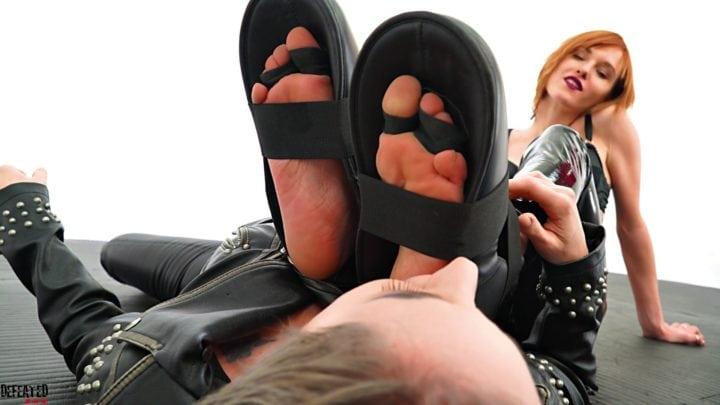 karateka feet